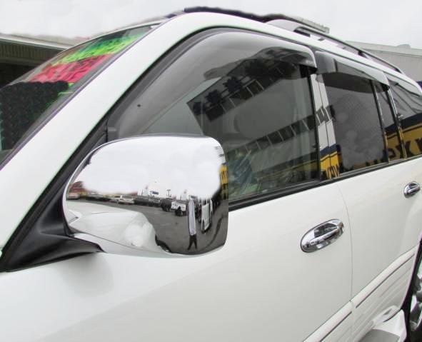 !トヨタ ランドクルーザー100系 クロームメッキドアミラーカバー
