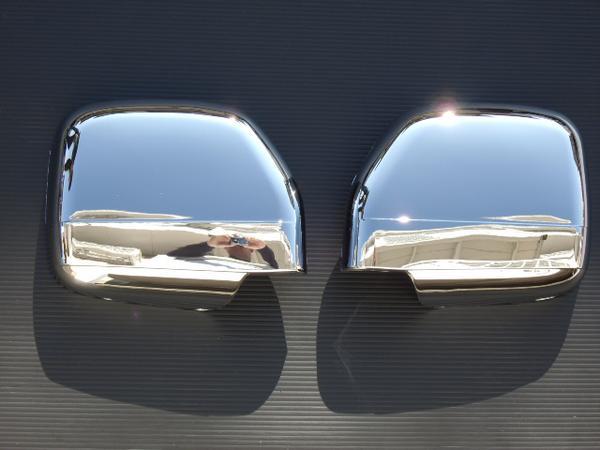!トヨタ ランドクルーザープラド90系 クロームメッキドアミラーカバー
