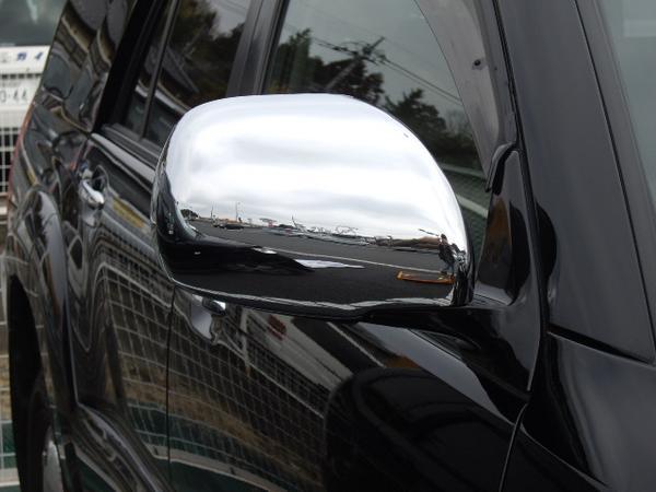 !トヨタ ランドクルーザー プラド120系 クロームメッキドアミラーカバー