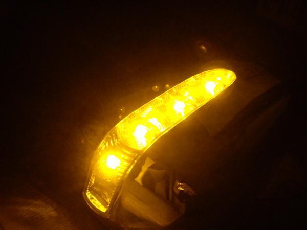 【 在庫処分 】 トヨタ ハリアー10系15系  LED クロームメッキドアミラーカバー