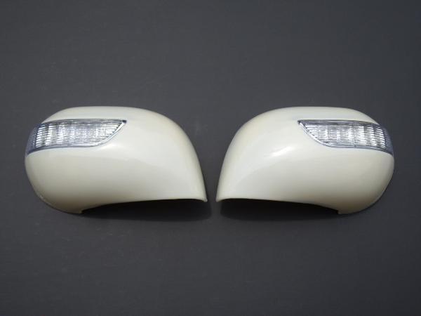 !日産 ノートE11 LED ドアミラーカバー(未塗装タイプ)