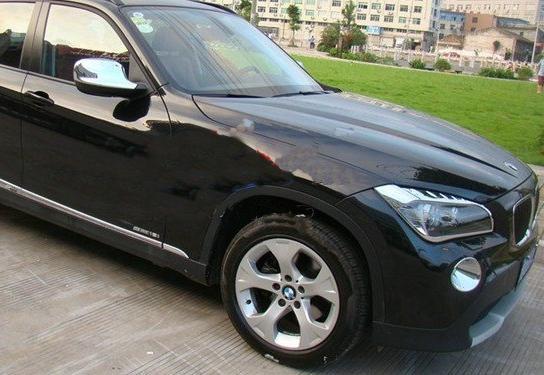 !BMW X1 E84 10-12y 鏡面仕上 クロームメッキヘッドライトリング