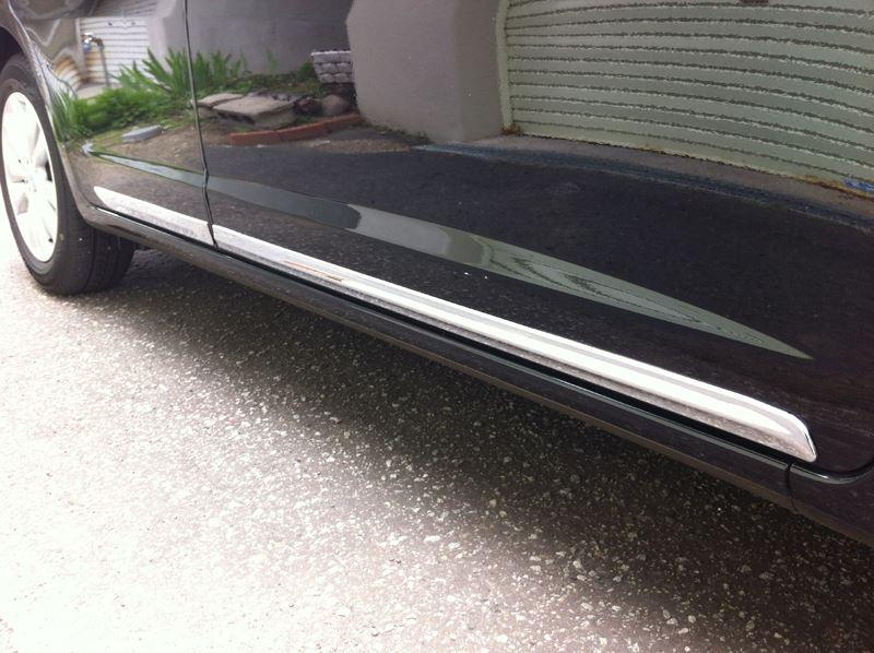 !ホンダ CR-V RM1 RM4 クロームメッキサイドドアモール フロントリアセット