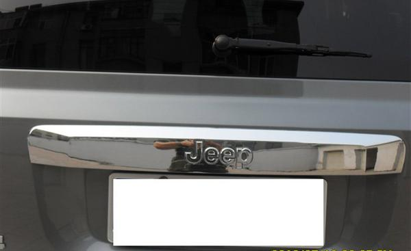 !JEEP コンパス MK系 クロームメッキ トランクリッドモール