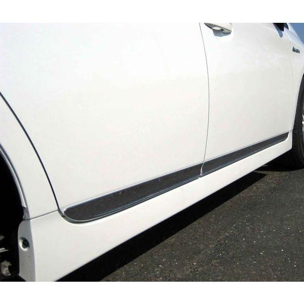 !トヨタ プリウス 30系 ステンレス製サイドドアモール 前後4P