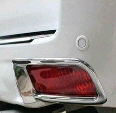 !トヨタ ランドクルーザープラド150系 クロームメッキリフレクターリング