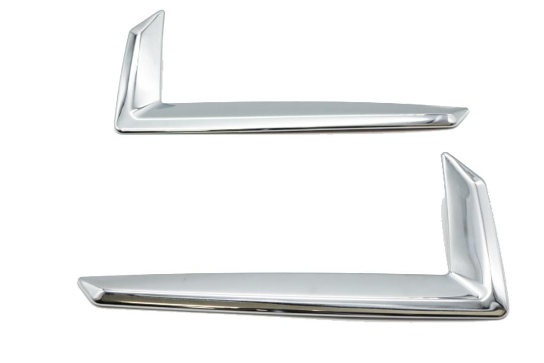 ダイハツ ロッキー 200系 210系 クローム メッキ リフレクター リム リング リア バンパー フォグ トリム カバー ガーニッシュ
