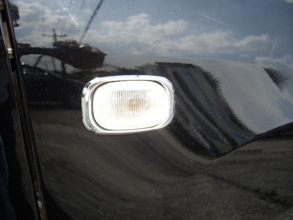 !トヨタ ハリアー 10系30系 クロームメッキサイドマーカーリングセット