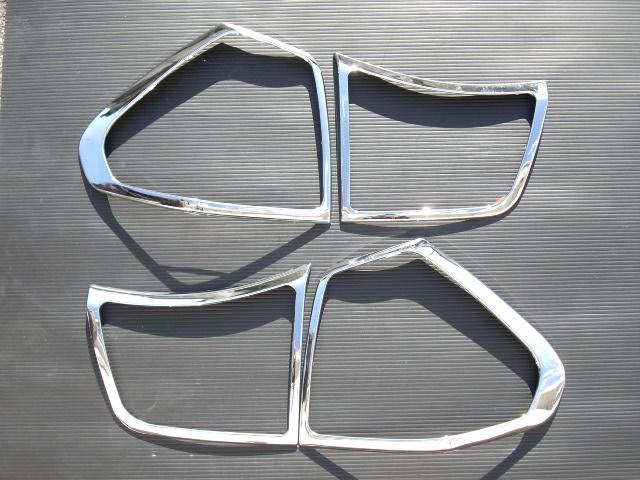 !トヨタ ハリアー30系35系 クロームメッキテールライトリング
