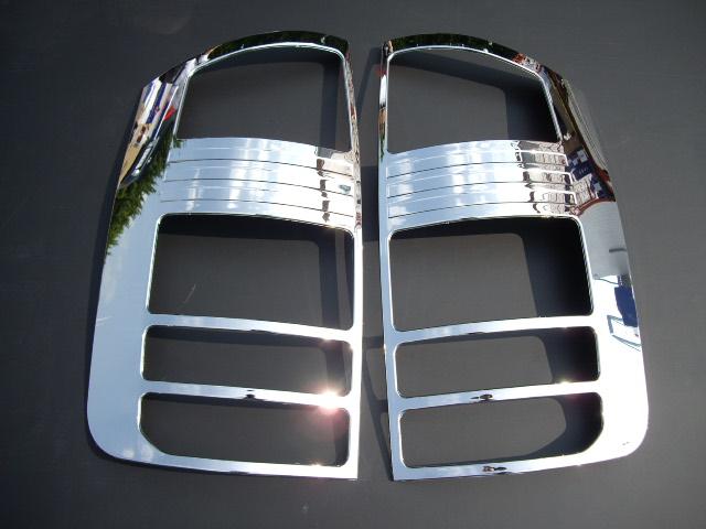 !トヨタ ノア60系65系前期 クロームメッキテールライトリング