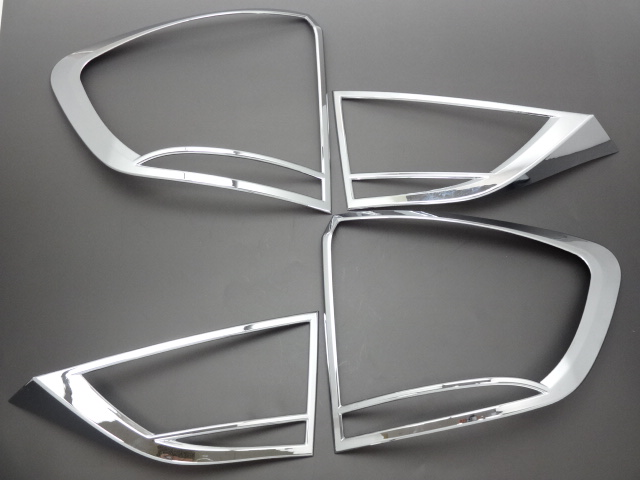 【 在庫処分 】 BMW X1 E84 10-12y 鏡面仕上 クロームメッキテールライトリング